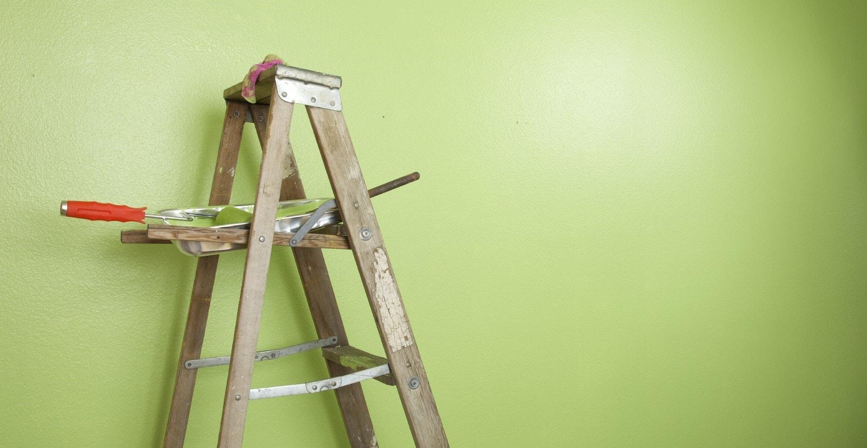 покраска стен и потолков фото