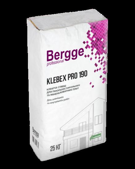 Bergge Klebex Pro 190