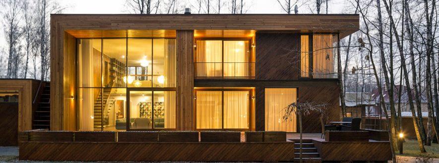 фасады в хай-тек стили фото