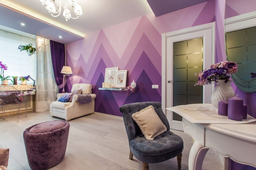 sirenevyy tsvet v interere 11 1024x683 7 дизайнерских секретов, которые помогут преобразить ваш дом