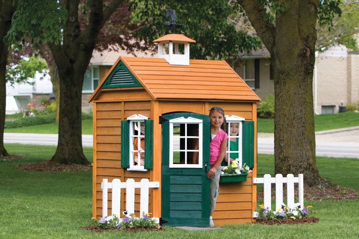 Детский домик своими руками 1000 фото, чертежи, инструкции 71