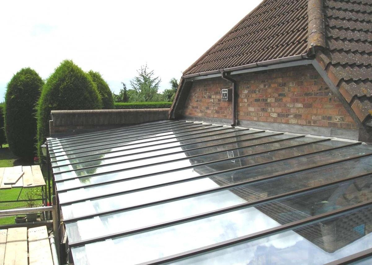 крыша из поликарбоната фото