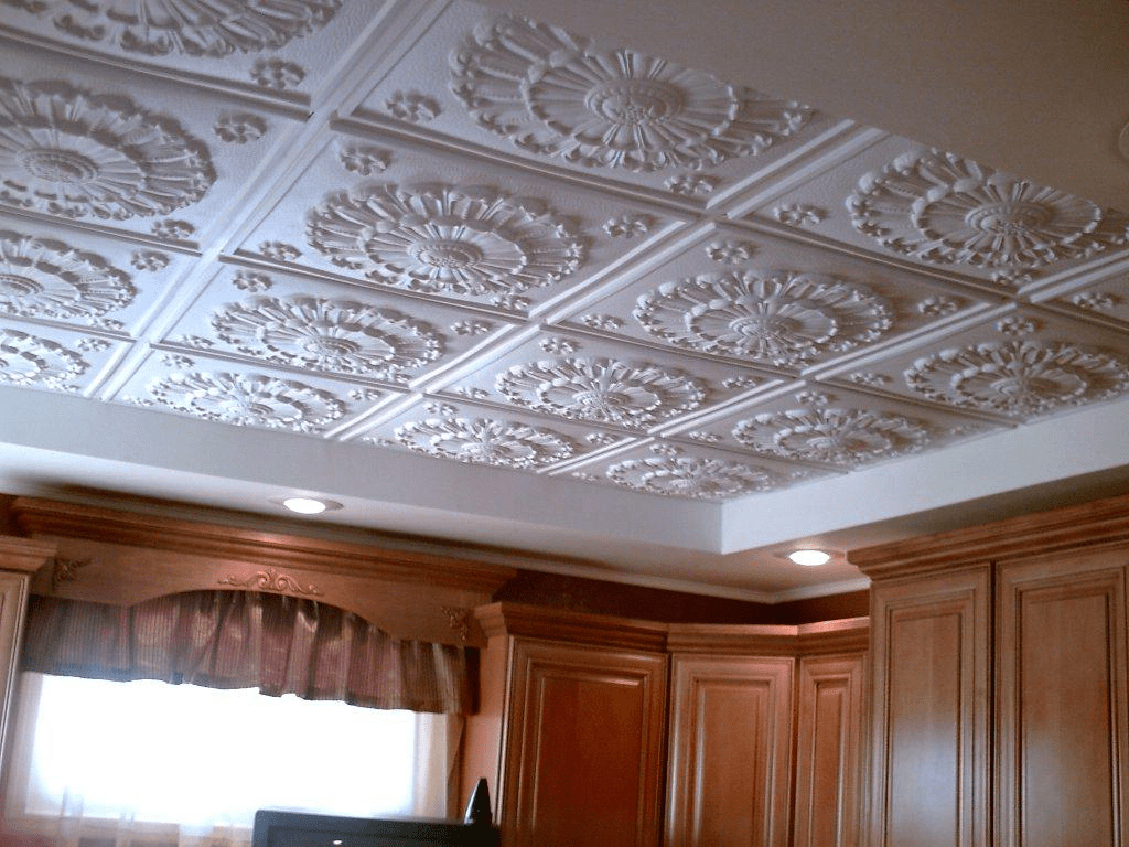 потолок плитка фото