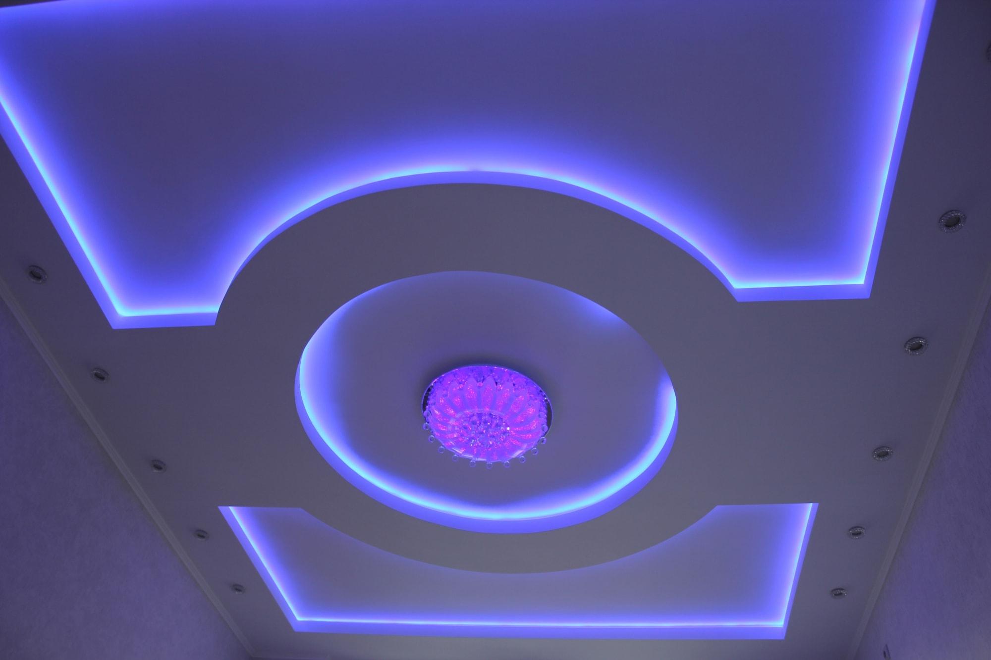 Как сделать красивый потолок фото