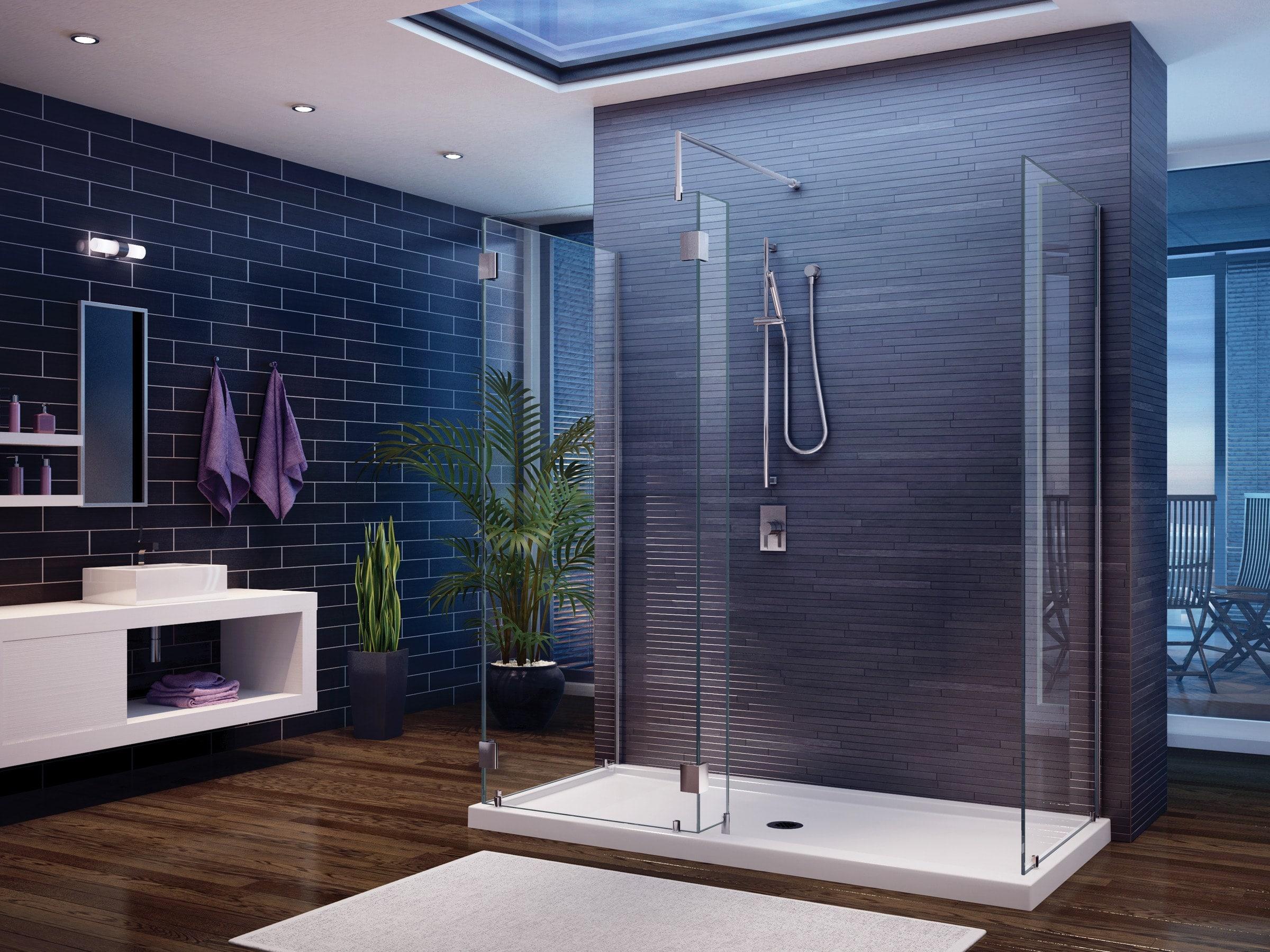 душевая кабина в ванной фото
