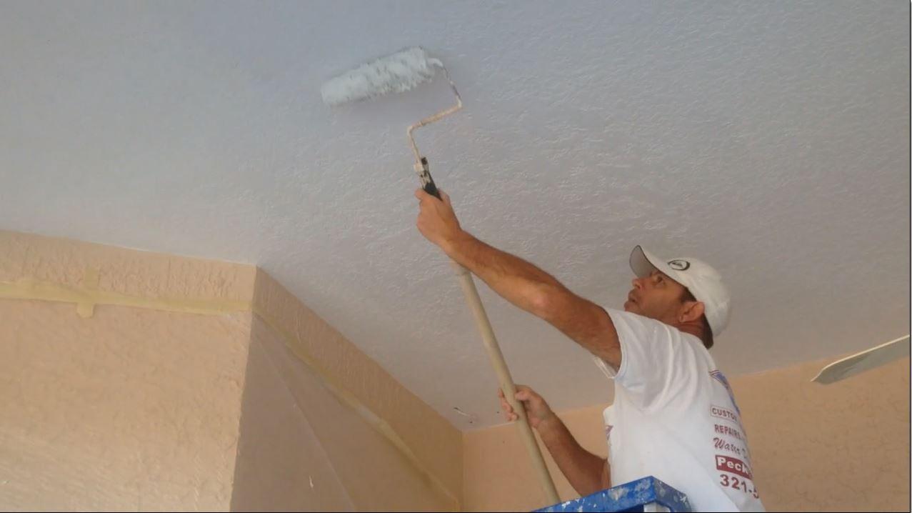 грунтовка для потолка под покраску фото