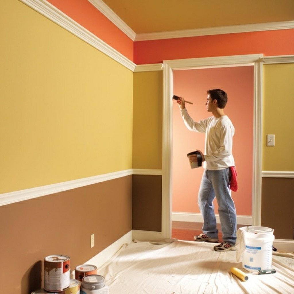 Краска для стен 72