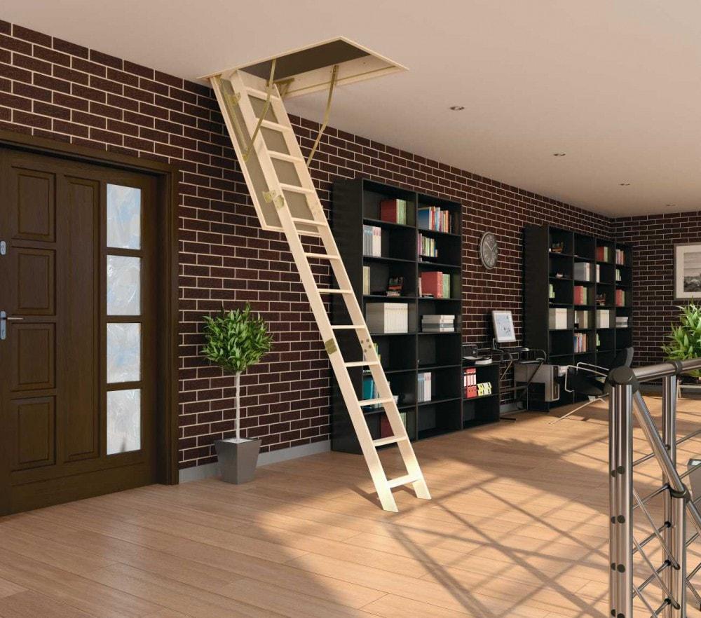 лестница на чердак фото