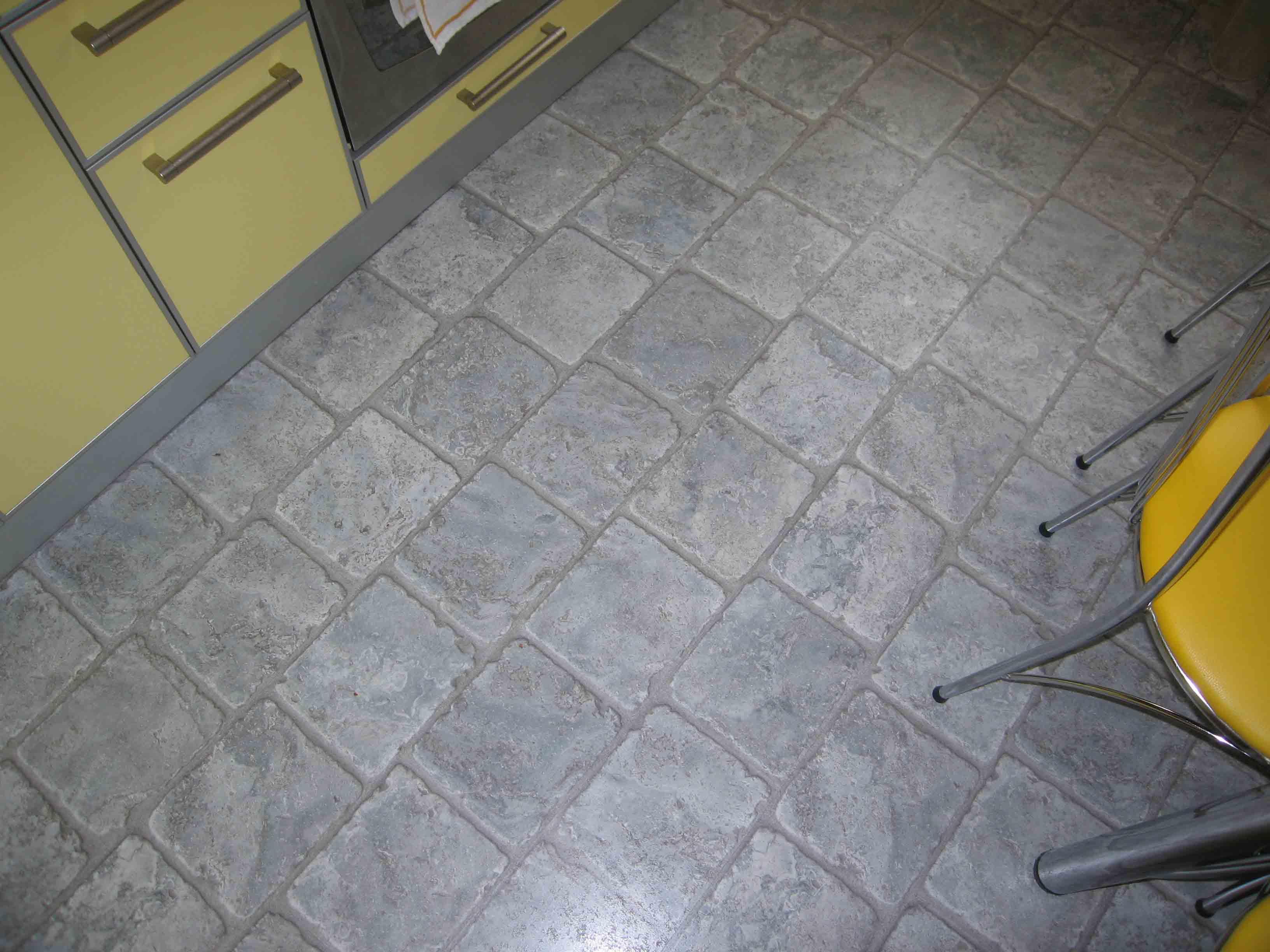 пол из каменной плитки фото