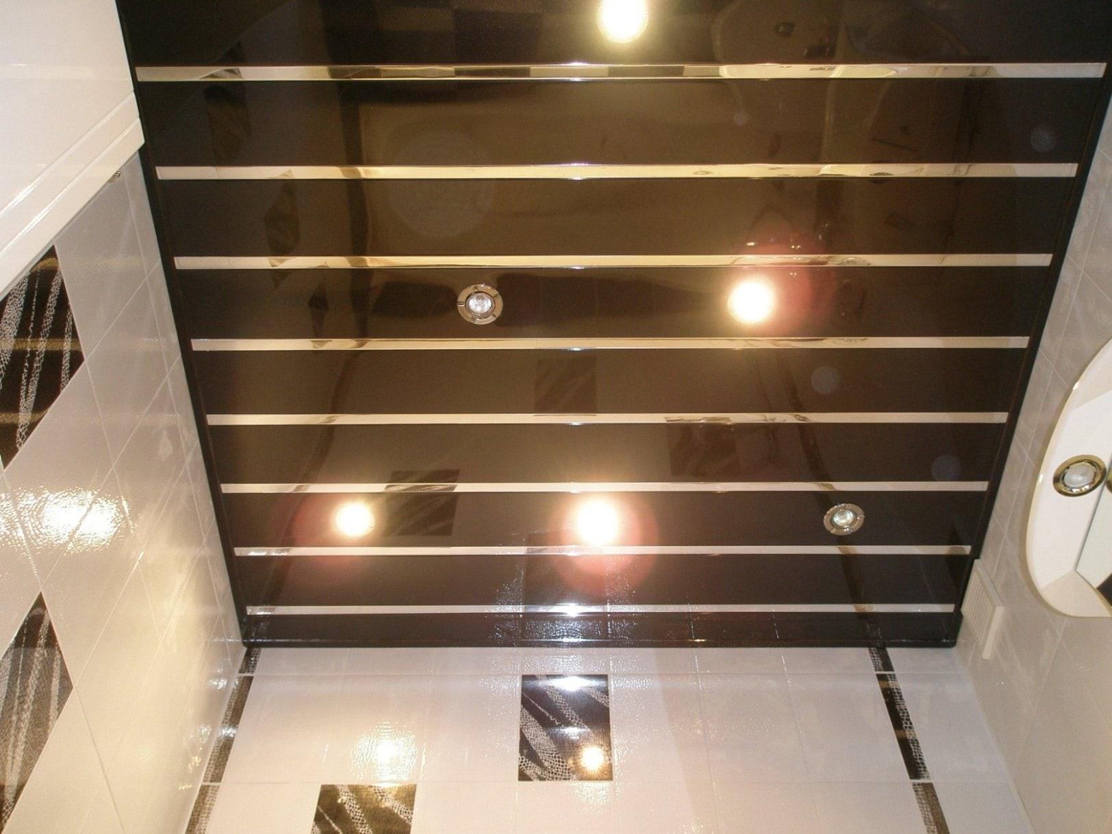 Монтаж реечных потолков фото