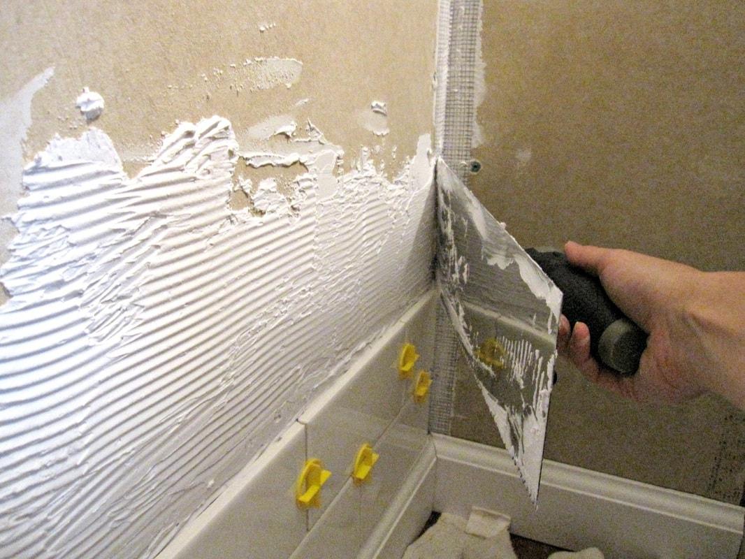 Как сделать внутренние углы на стенах 374